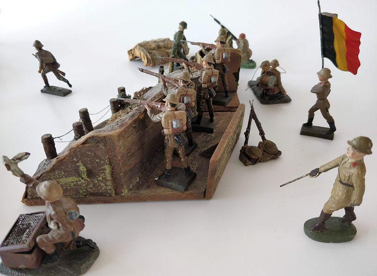 Het Speelgoedmuseum zet vanaf zondag tot en met 6 januari een aantal collectiestukken gelinkt aan de Eerste Wereldoorlog in de kijker.