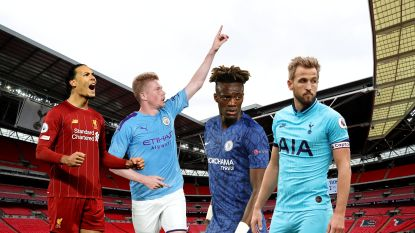 """Gek of geniaal? """"FA lanceert plan om resterende Premier League-matchen zonder publiek te spelen op Wembley: desnoods vier matchen per dag"""""""