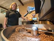 Inkijkje bij de net geopende koffiebranderij in Harderwijk