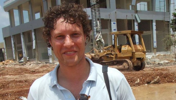 Oerlemans in Beirut, in 2006.