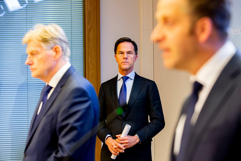 Persconferentie met premier Mark Rutte.
