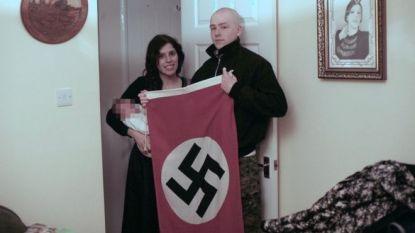 Vijf en zes jaar cel voor neonazistische ouders van 'baby Hitler'