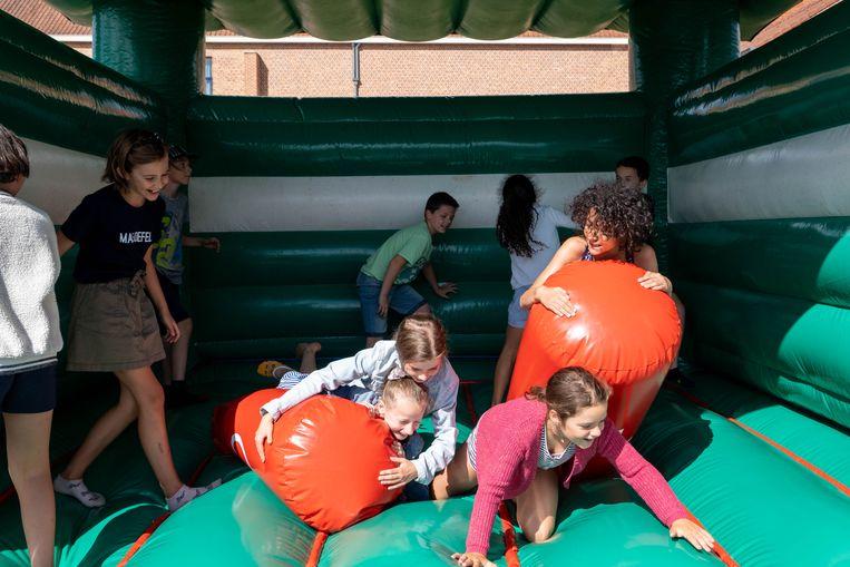 Het grote niet-verjaardagsfeest in De Kinderplaneet in Mariekerke