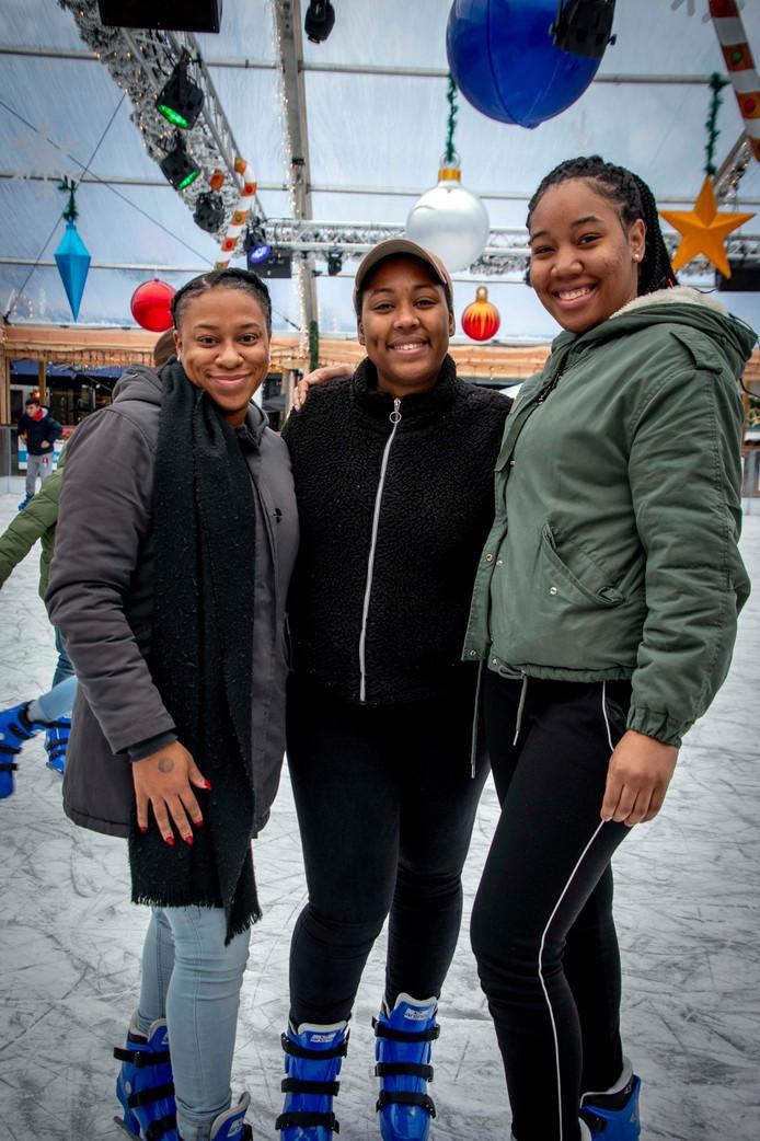 Kimberley, Rachida en Fjeny