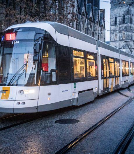 Wijziging tramlijn 1 door werken