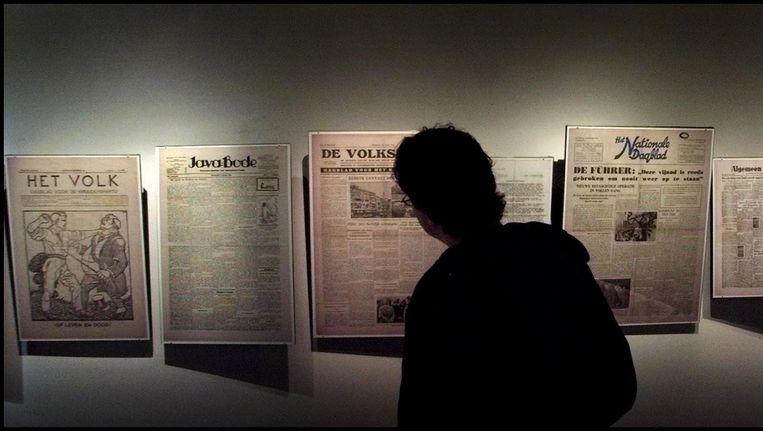 Expositie in het Persmuseum Beeld anp