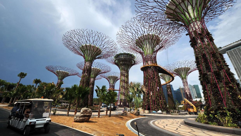 Marina Bay, Singapore. Beeld anp