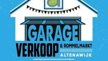 Altenawijk organiseert 13de garageverkoop en rommelmarkt