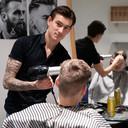 Kapper Tim Slaaman van Tim's Barbershop