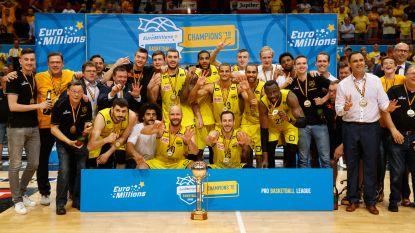Oostende pakt zevende landstitel op rij in het basket