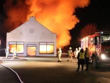Brand verwoest pand van burgerinitiatief dat zich inzet tegen armoede in Scherpenzeel: 'Alles is weg'