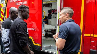 Malinese 'Spiderman' beloond met de hoogste onderscheiding van Parijs, intussen meldde hij zich ook al aan bij de brandweer van de stad