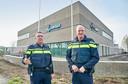 Het nieuwe politiebureau in Uden.