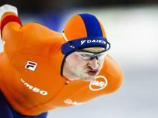 Kramer wint 5000 meter, Roest nipt aan de leiding