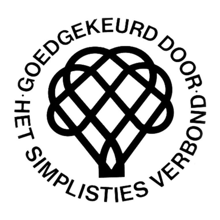 Stofbergen ontwierp ook het beeldmerk van het Simplisties Verbond van Van Kooten en De Bie (1974): een mattenklopper. Beeld