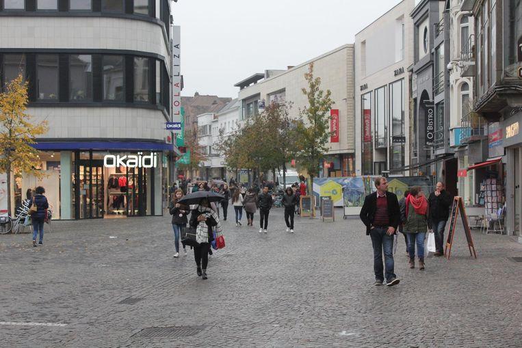 De app kan vanaf december worden uitgetest in het stadscentrum van Aalst.
