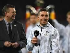 Podolski wil eigenlijk iedereen persoonlijk bedanken