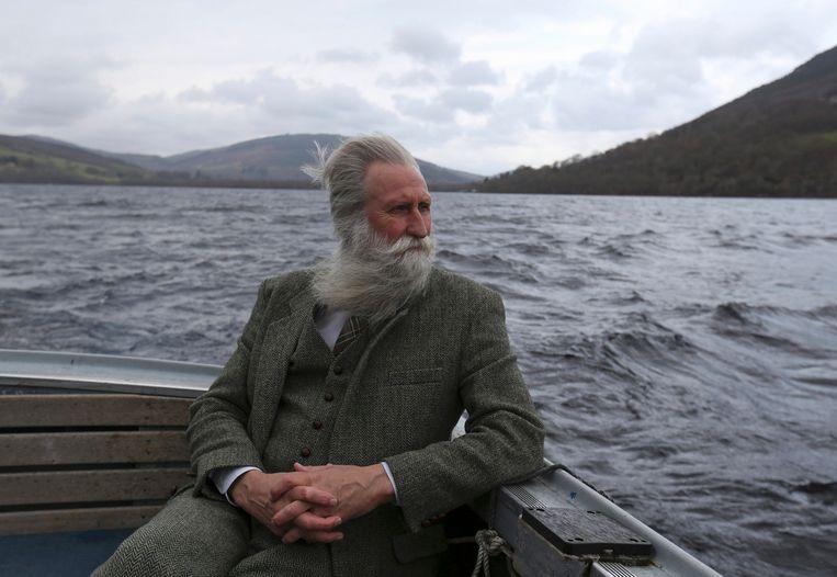 Adrian Shine van het Loch Ness Project.