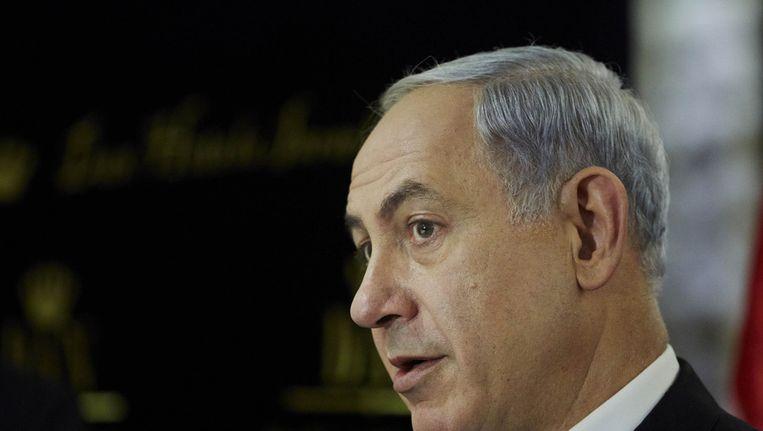 De Israëlische premier Benjamin Netanyahu Beeld ANP