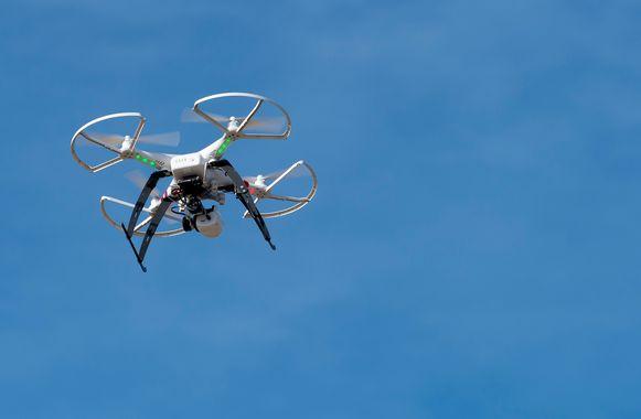 Illustratie. De drones waarmee gevlogen wordt zijn nog in ontwikkeling.