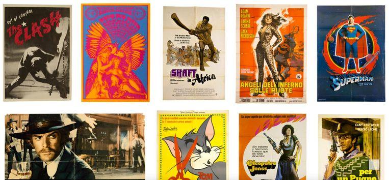 Tegenwoordig staat de collectie ook online gearchiveerd. Beeld Cine Qua Non