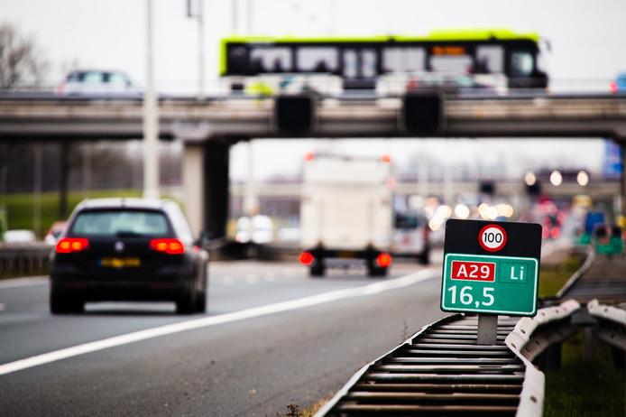 Verkeer op de A29 krijgt er mogelijk opties bij.