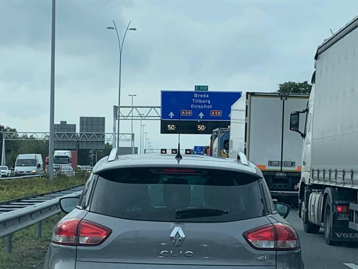A58 tussen Breda en Bergen op Zoom weer open na een ongeluk