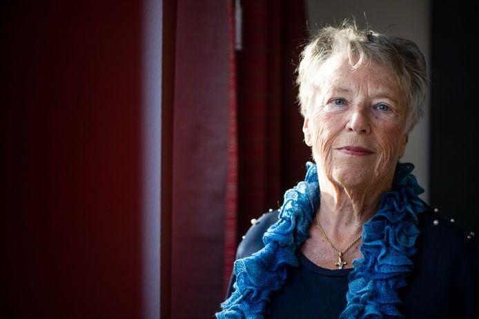 Jeanne Diele Staal, kind van een NSB-vader uit Almelo.