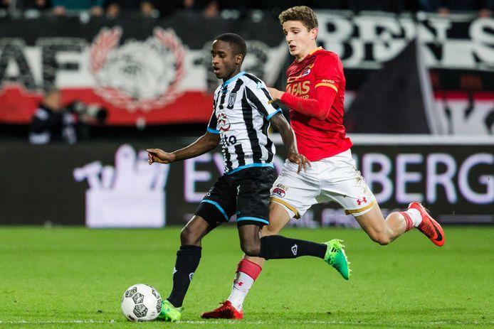 Jamiro Monteiro is een van de nieuwkomers bij Heracles. Hij speelde vorig seizoen nog in de eerste divisie