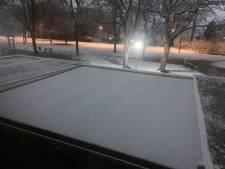 Zuiden en oosten van het land worden wakker met sneeuw, rommelige ochtendspits
