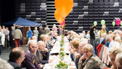 Senioren houden feestje in De Mol