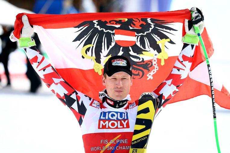 Hannes Reichelt veroverde goud.