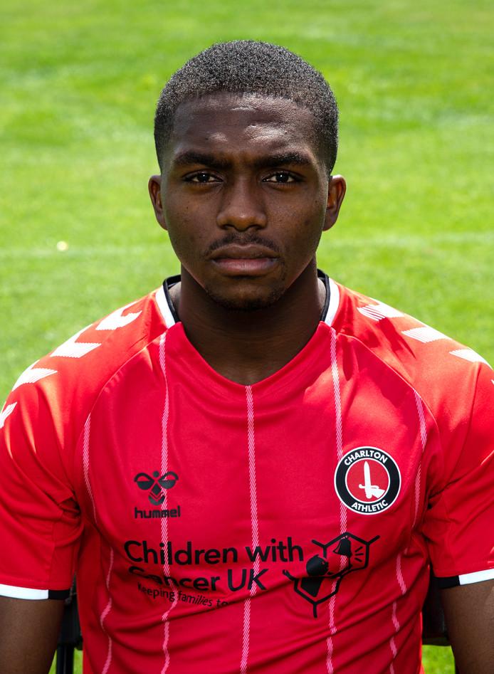 Anfernee Dijksteel in het shirt van Charlton Athletic.