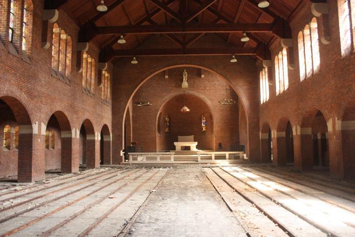 De huidige staat van de Sint Jozefkerk in Kaatsheuvel.