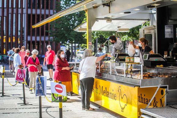 De markten in Brugge mogen weer doorgaan