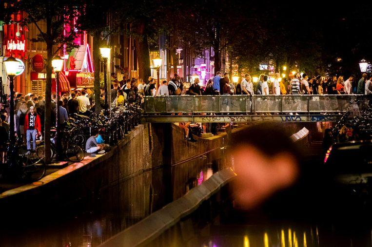 De Wallen in Amsterdam.