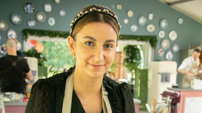 De Middelburgse Nina Kulisic, voor wie het avontuur eindigde in de tweede aflevering van Heel Holland Bakt.