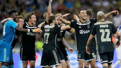 Ajax plaatst zich ondanks het missen van een resem kansen voor groepsfase Champions League