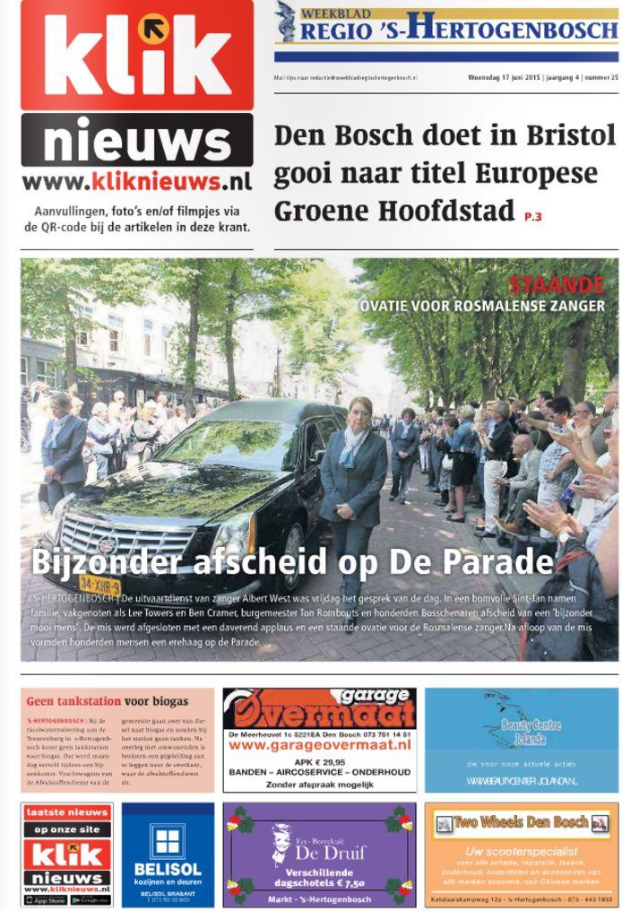 Het weekblad Regio 's-Hertogenbosch.