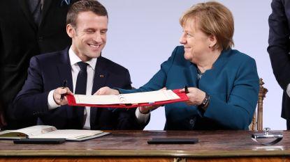 """Nieuw Frans-Duits vriendschapsverdrag wil """"bijdragen tot Europees leger"""""""