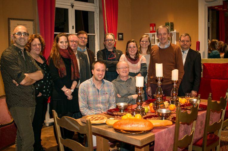 In de eetzaal van Sinterklaas, in het Huis van de Sint in de Stationsstraat, is alles al in gereedheid gebracht om straks opnieuw meer dan 35.000 bezoekers te ontvangen.