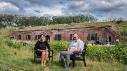 """Dries en Véronique wonen in historisch militair fort uit 1886: """"De restauratie is ons levenswerk"""""""
