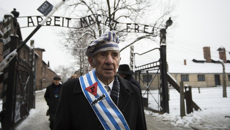 De 70ste verjaardag van de bevrijding van het vernietigingskamp Auschwitz werd op 27 januari herdacht. Miroslaw Celka (89), die de horror overleefde, woonde de herdenking bij.