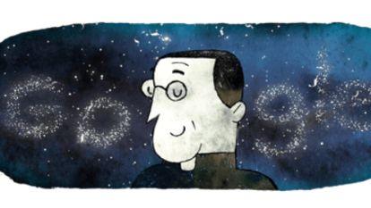 Google viert Georges Lemaître, de Belg die aan de basis lag van de bigbangtheorie