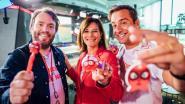 Leerlingen en leerkrachten Het Groene Dal zamelen met 'Loopneusathon' geld voor Rode Neuzen Dag in