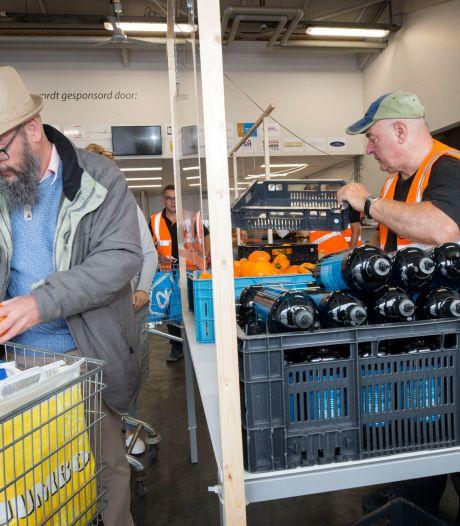 Voedselbank door minder verspilling in lelijke spagaat