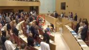 AfD-parlementslid krijgt scherpe kritiek nadat hij demonstratief blijft zitten tijdens herdenkingsmoment vermoorde Duitse politicus
