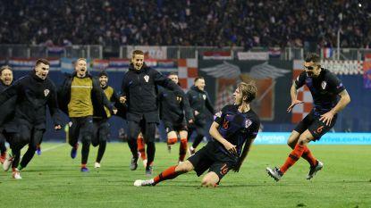 Tweede nederlaag op rij voor Spanje: Kroatië viert eerste keer in Nations League na doelpunt in slotseconden
