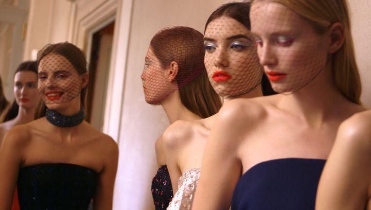 Modellen in Dior and I, de film van Frédéric Tcheng. Beeld Filmdepot