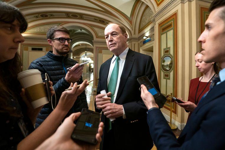 De Republikeinse senator Richard Shelby deelde maandag mee dat er een akkoord was bereikt.